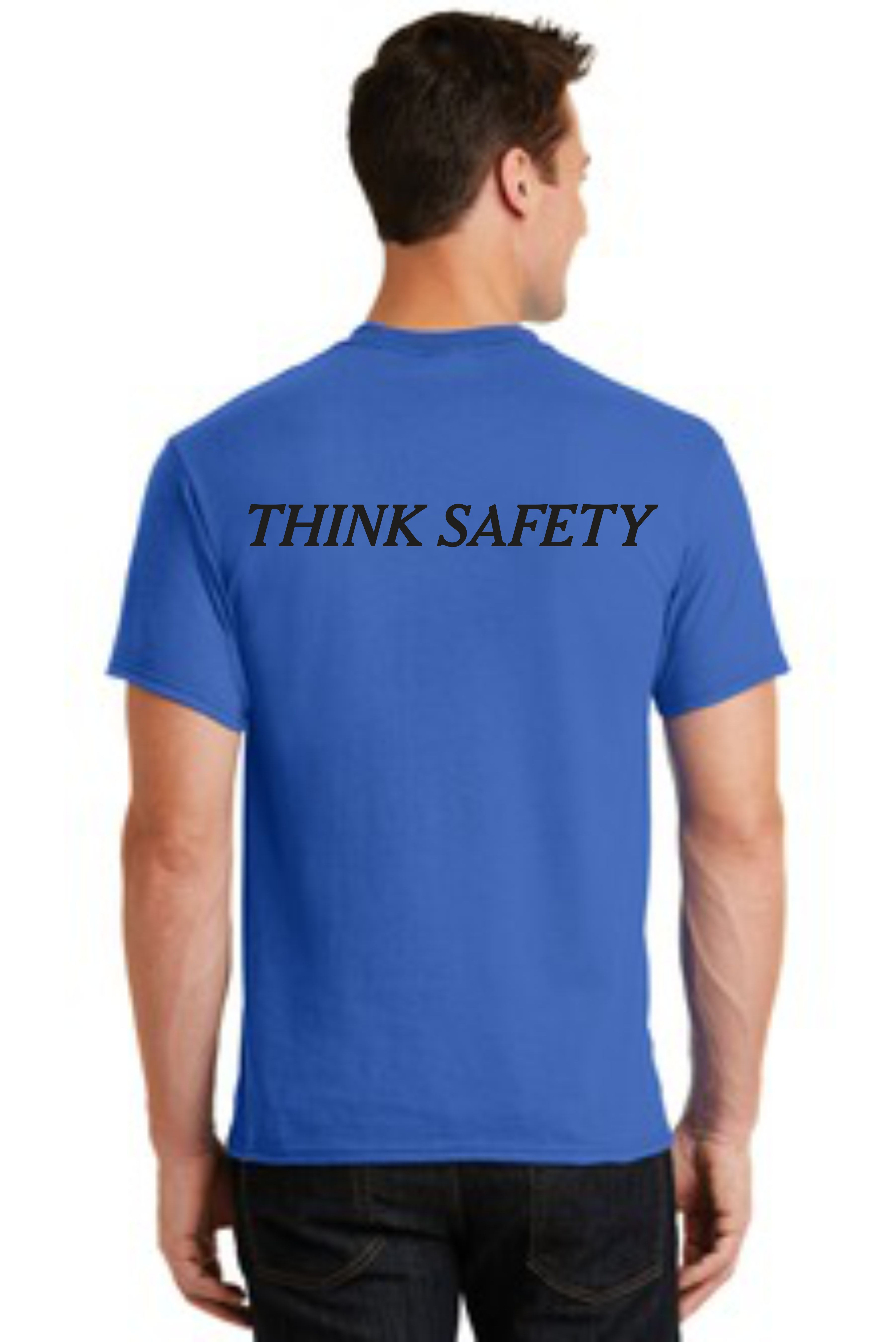 SAFETY T-SHIRT -- THINK SAFETY