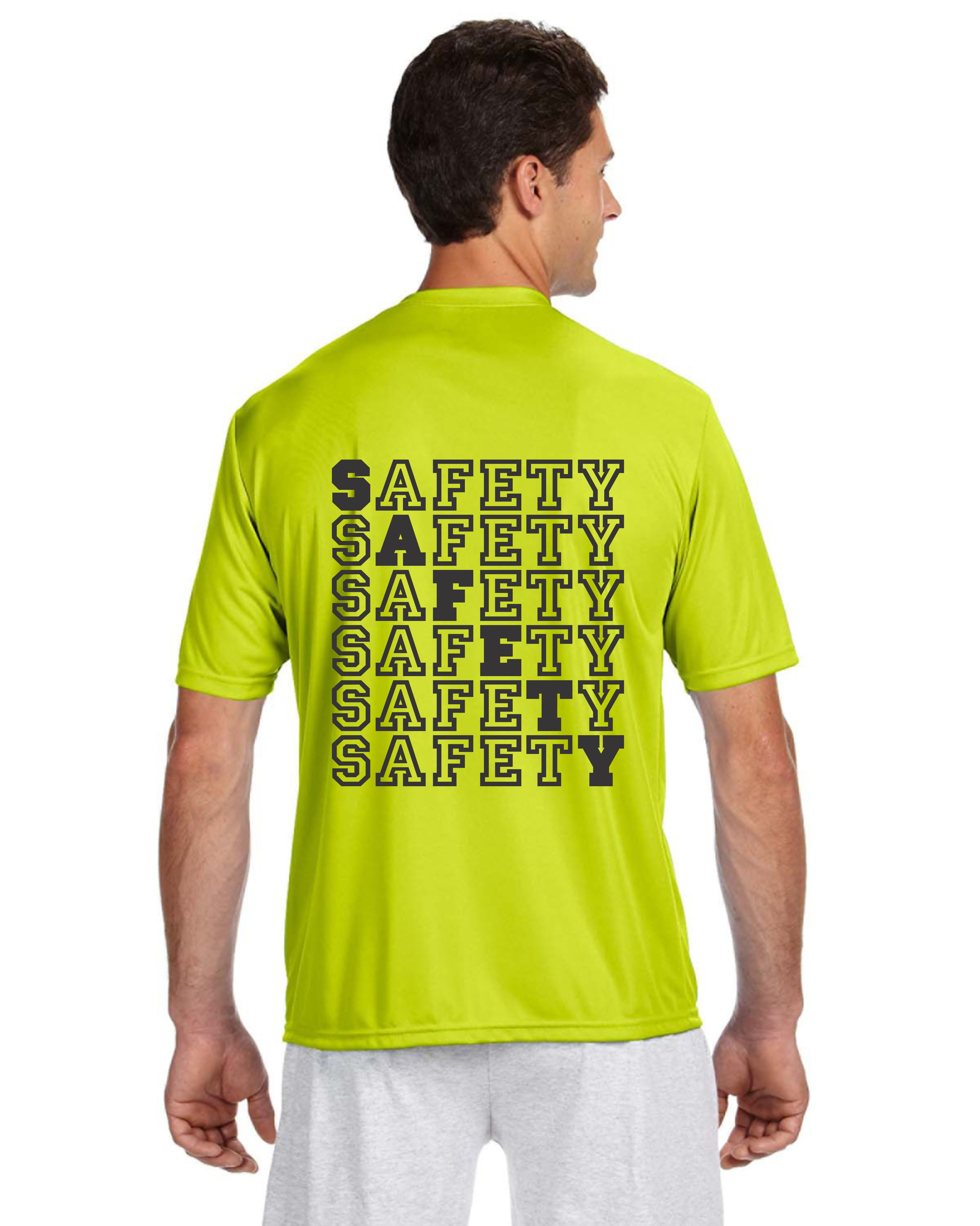 SAFETY PERFORMANCE DRY-FIT T-SHIRT -- SAFETY