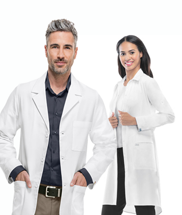 40'' Lab Coat Unisex  | Top Seller -EHS