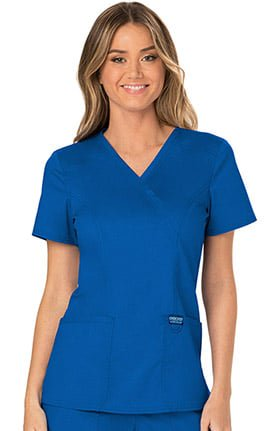 EHS C6 Mock Premium Stretch Scrub Top-EHS