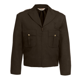 10504 Zippered Front Ike Jacket - Elastique Weave - CHP Specifications-