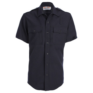 Mens LAPD Short Sleeve Shirt - Serge Weave-Tactsquad