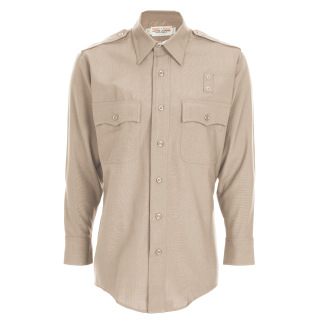 Mens Class A LASD Long Sleeve Shirt - Plain Weave-