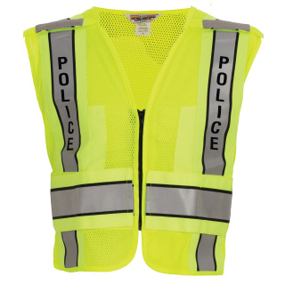 ANSI 207-2011 Mesh Safety Vest POLICE-Tactsquad