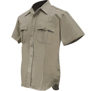 Short Sleeve Poly/Cotton Shirt - Womens-