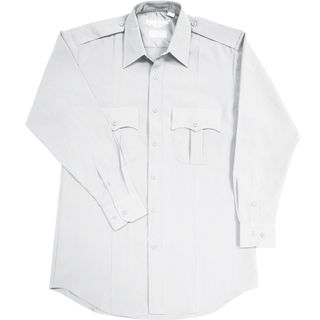 Long Sleeve Polyester Police Shirt - Mens-