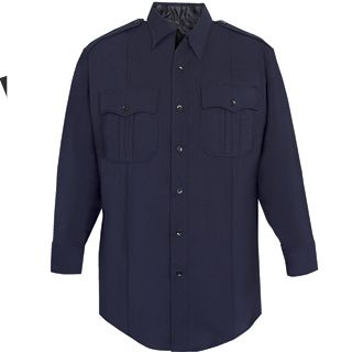 NYPD Long Sleeve Shirt - Poly/Rayon-