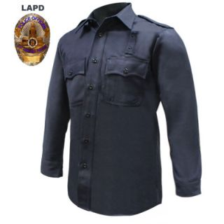 LAPD Regulation Long Sleeve Shirt - Mens-