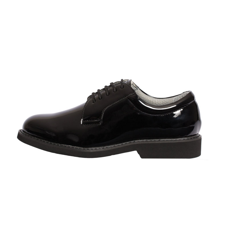 Hi-Gloss Uniform Oxford Shoe-Tactsquad
