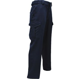 Polyester Trousers with Cargo Pocket-