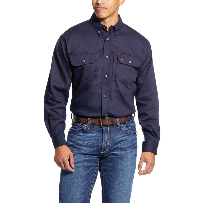 FR Solid Vent Work Shirt-