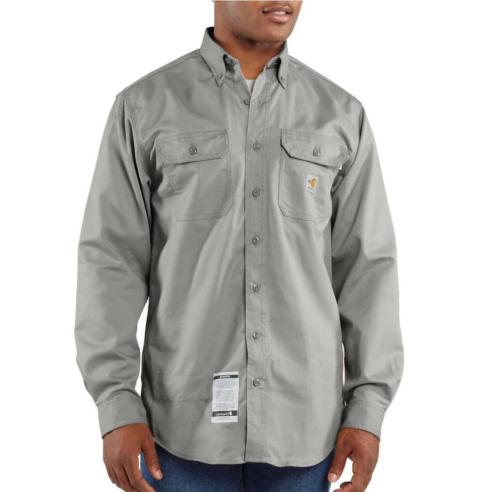 FRS160 Mens Flame-Resistant Classic Twill Shirt-CH