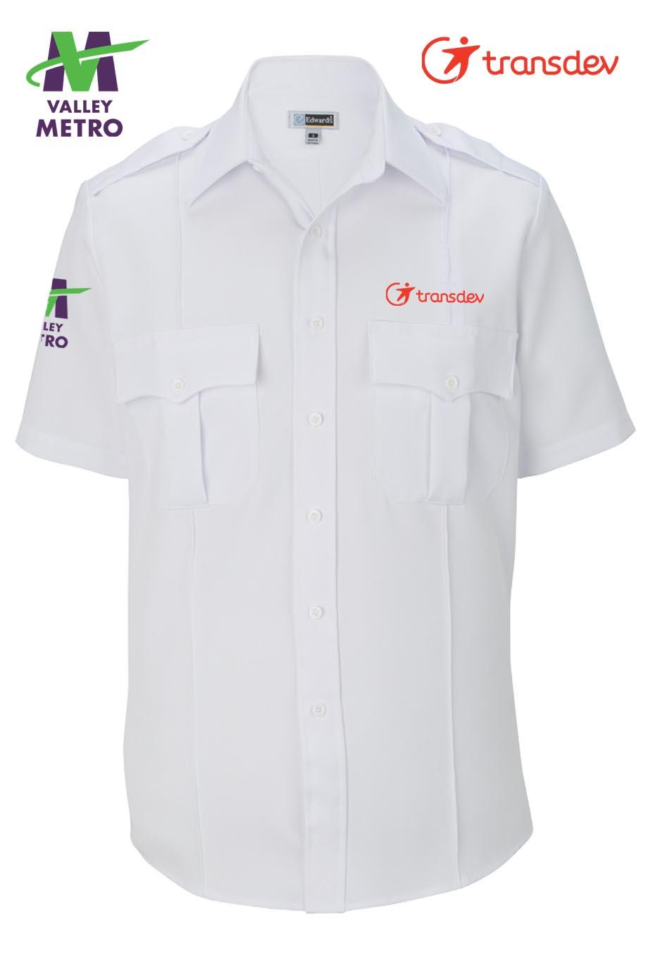 1226 Operator Shirt - Short Sleeve-Edwards