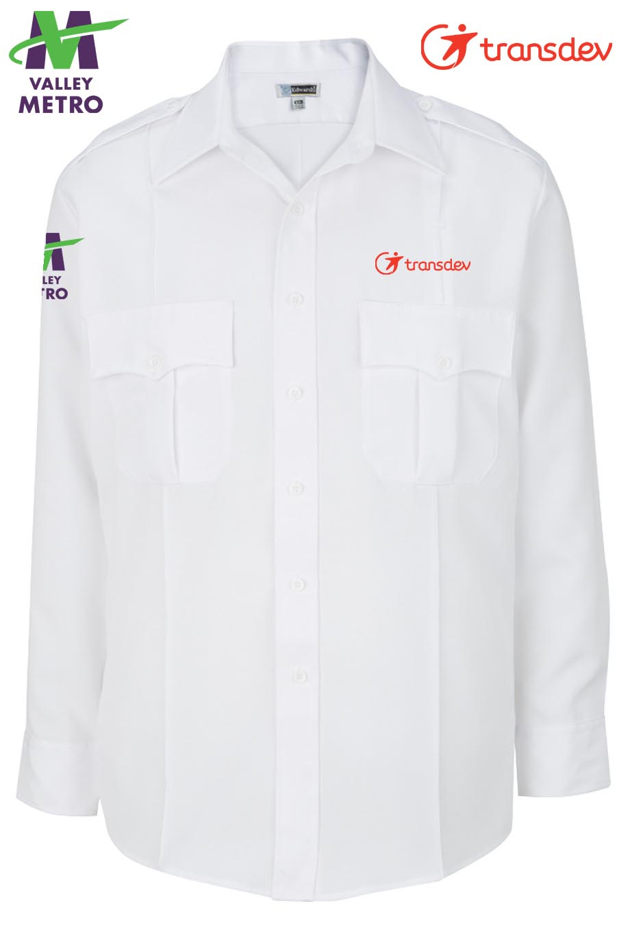 1276 Operator Shirt - Long Sleeve-Edwards