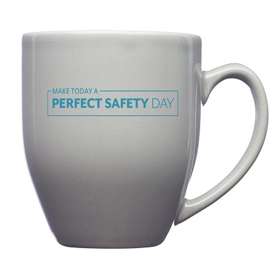 16 oz. Bistro Glossy Coffee Mugs -Capp Uniform Services