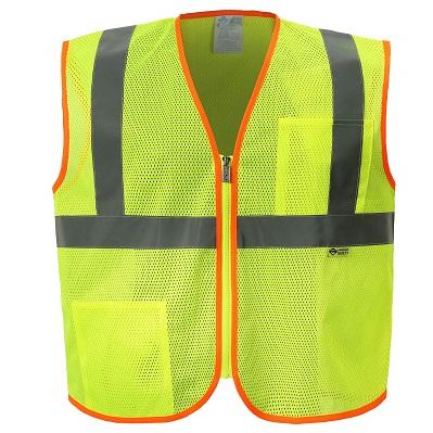Class 2 Mesh Zippered Safety Vest-Capp Uniform Services
