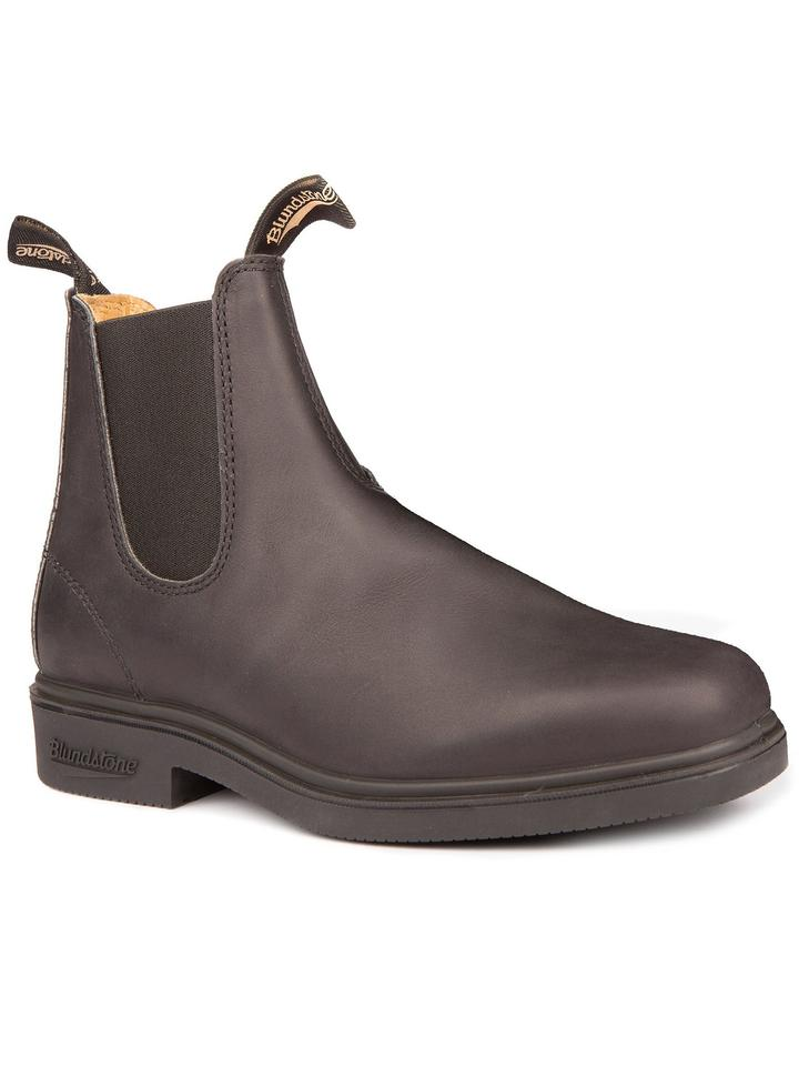 Blundstone 067 - Chisel Toe Dress Stout Brown-Blundstone
