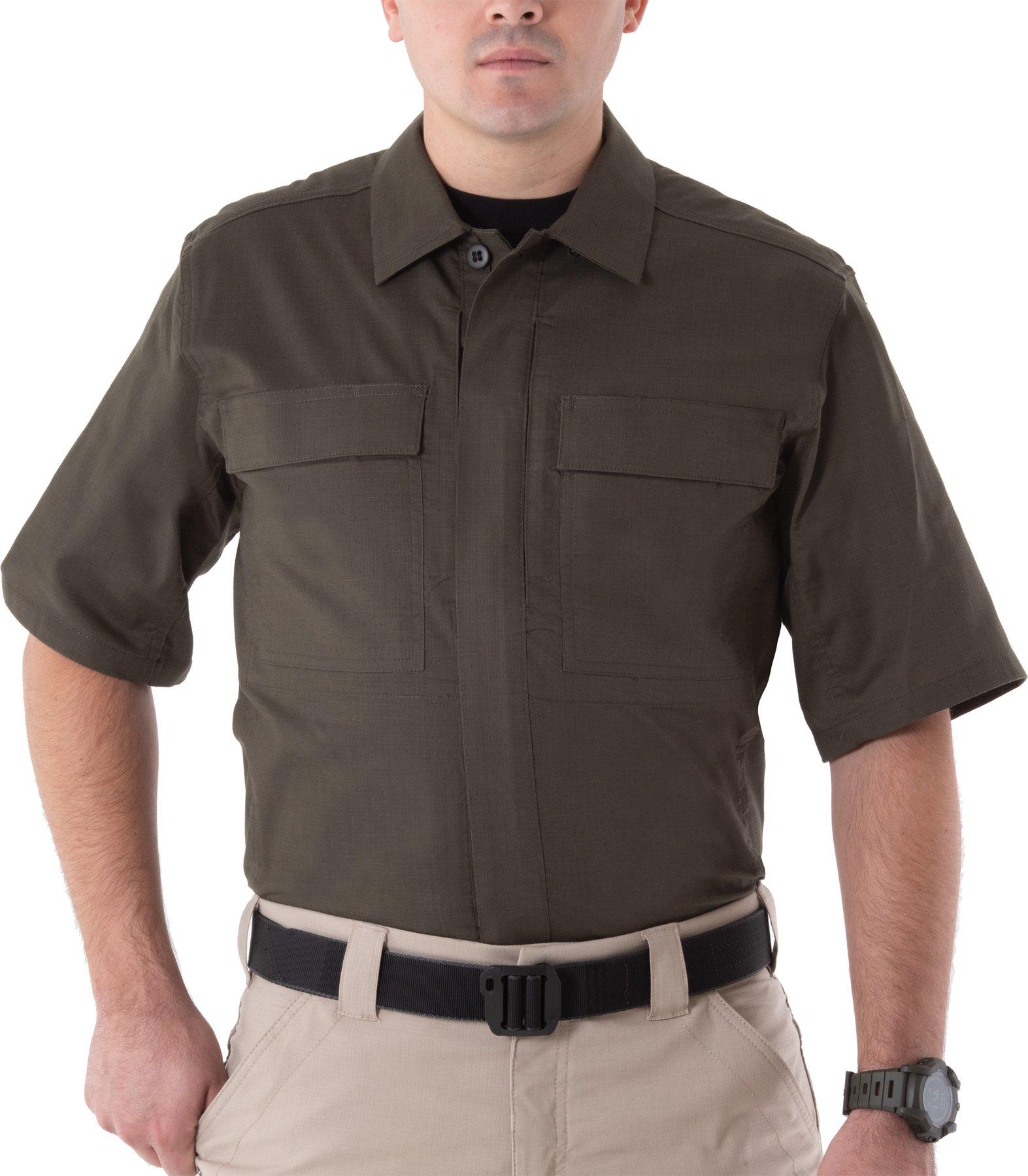 MEN'S V2 BDU SHORT SLEEVE SHIRT-First Tactical