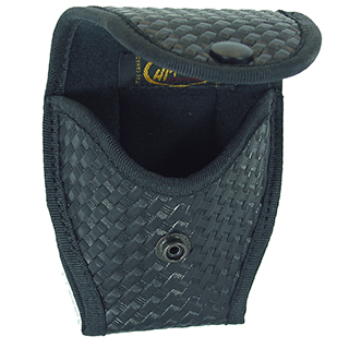HANDCUFF CASE W/ FLAP, BASKETWEAVE-H-Tec Intervention