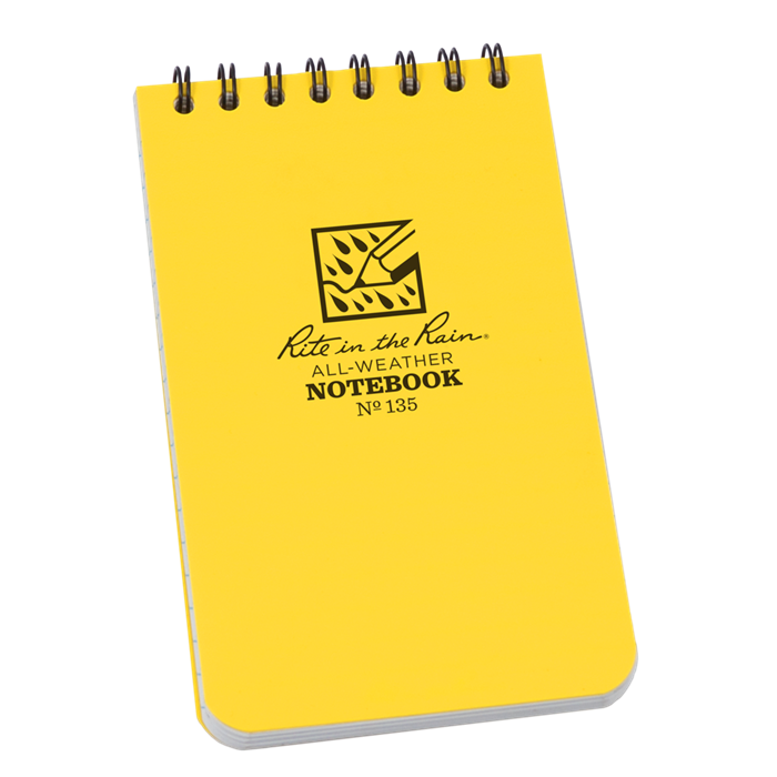 Pocket Top-Spiral Notebook -Rite in the Rain