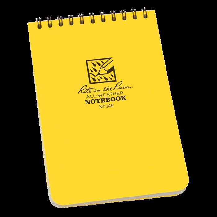 """Pocket Top-Spiral Notebook 4"""" x 6"""""""
