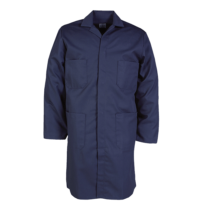 100% Cotton Industrial Lab Coat-Big Bill