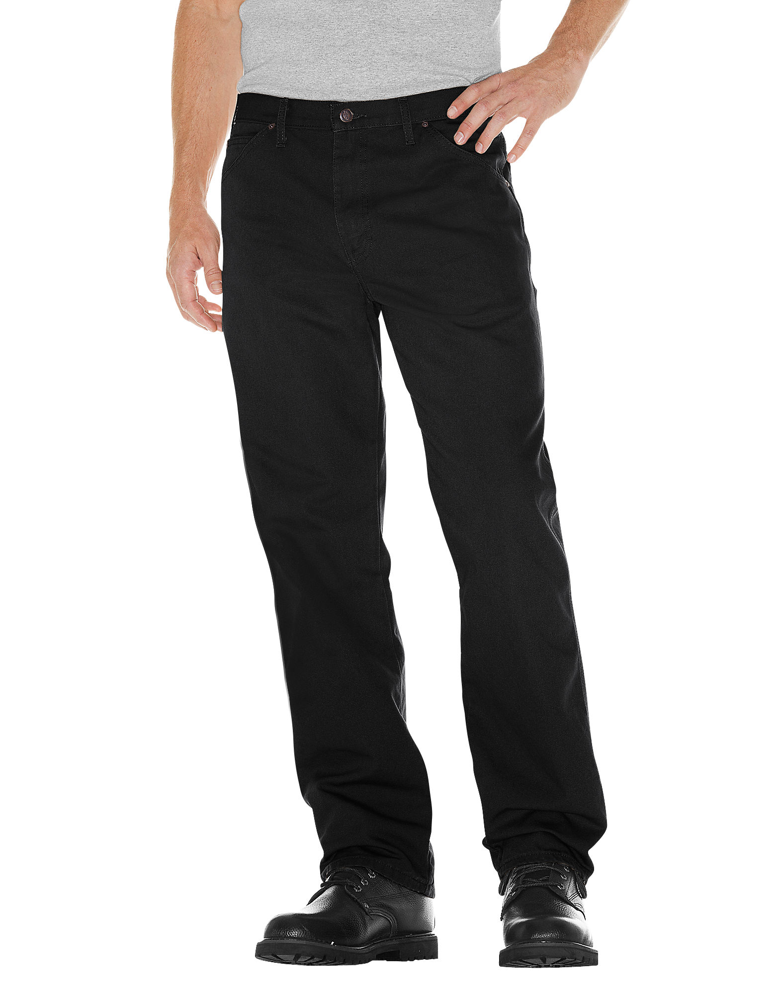 Relaxed Fit Carpenter Duck Jean-