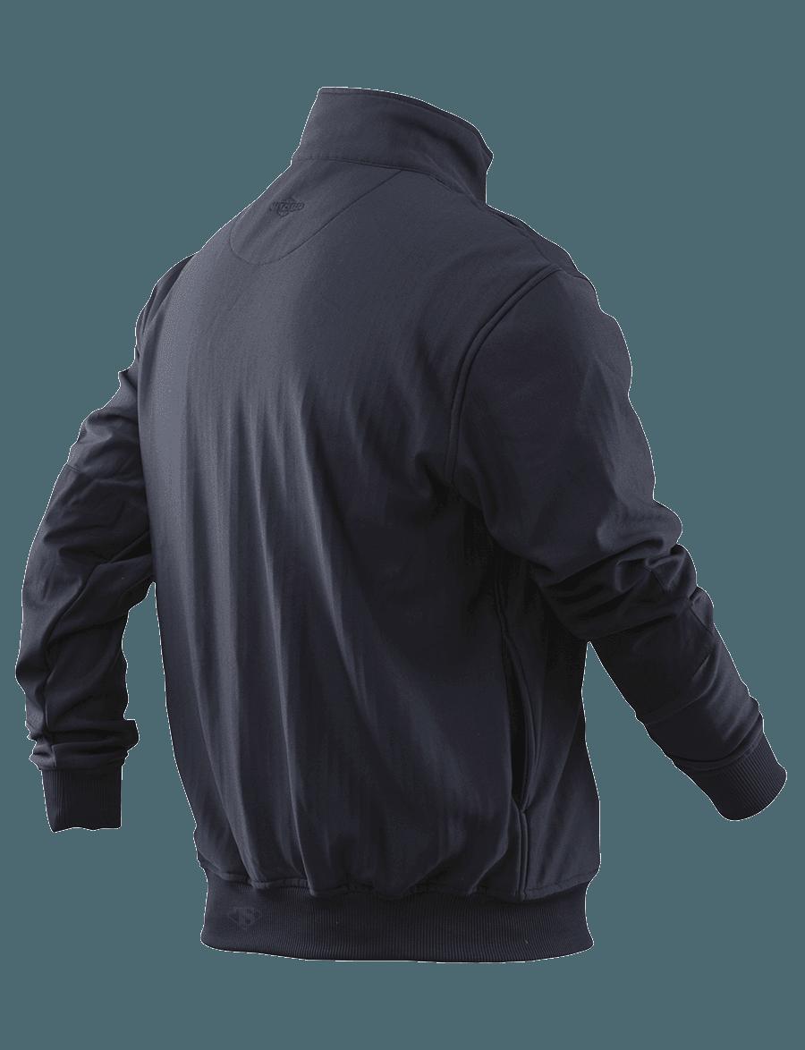 GRID FLEECE ZIP THRU JOB SHIRT-Tru-Spec
