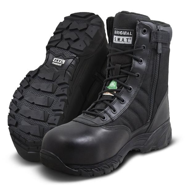 "Original SWAT 2272 Classic 9"" Female Waterproof Composite Side Zip Safety -Original S.W.A.T."