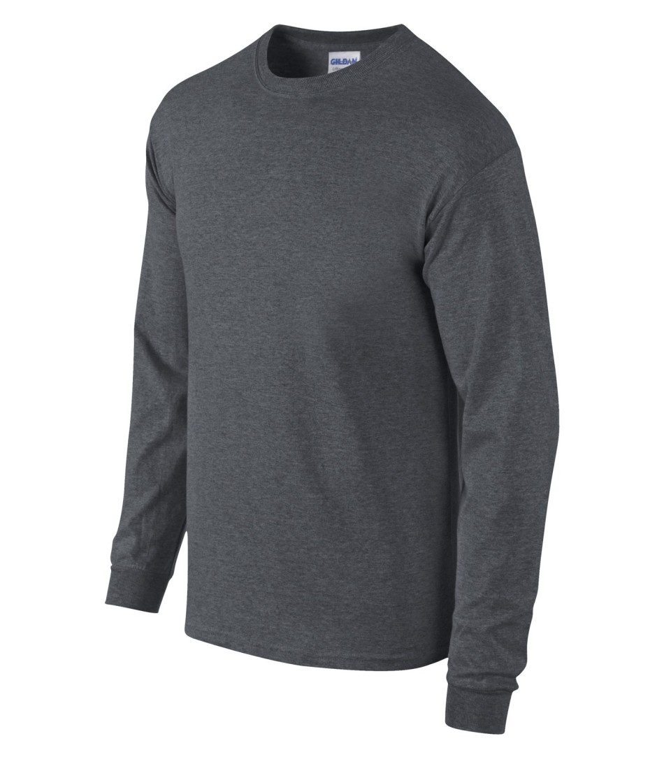 GILDAN® ULTRA COTTON® LONG SLEEVE T-SHIRT. 2400-SANMAR