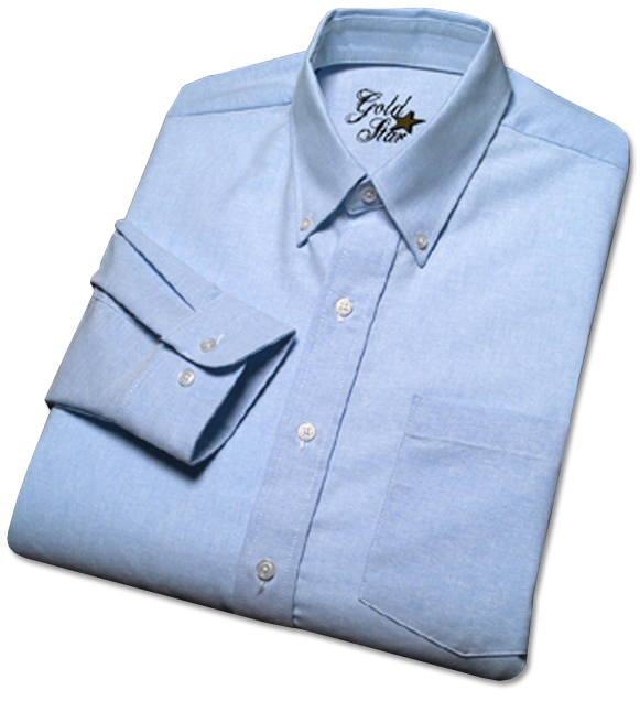Men's Oxford Short Sleeve Uniform Shirt-Goldstar Shirts & Apparel