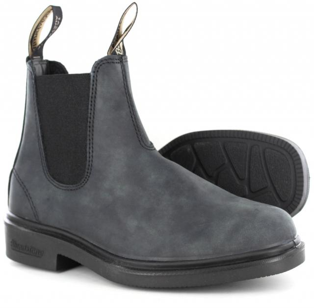 Blundstone 1308 - Chisel Toe Dress Rustic Black-Blundstone