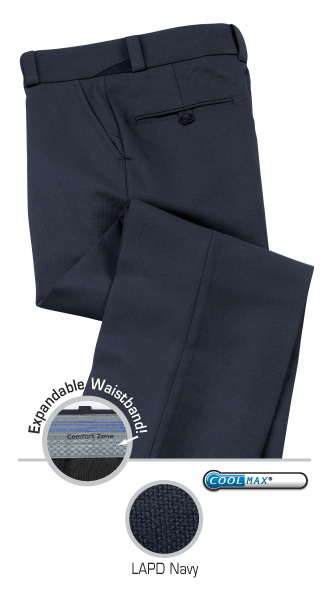 Comfort Zone SyNatural Class A Male Navy Trouser-Liberty Uniforms