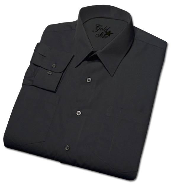 Men's Commercial Short Sleeve Dark Navy Uniform Shirt-Goldstar Shirts & Apparel