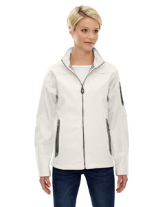 Ash City - North End Ladies' Three-Layer Fleece Bonded Soft Shell Technical Jacket-AB