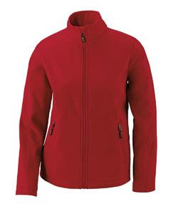 Ash City - Core 365 Ladies' Cruise Two-Layer Fleece Bonded SoftShell Jacket-AB