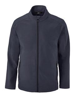 Ash City - Core 365 Men's Cruise Two-Layer Fleece Bonded SoftShell Jacket-AB
