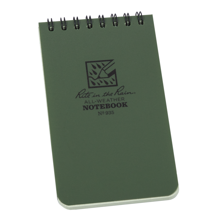 Pocket Top-Spiral Green Notebook -Rite in the Rain