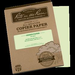 COPIER PAPER - Green
