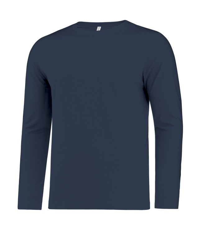 ATC™ EUROSPUN® RING SPUN LONG SLEEVE TEE. ATC8015-SM