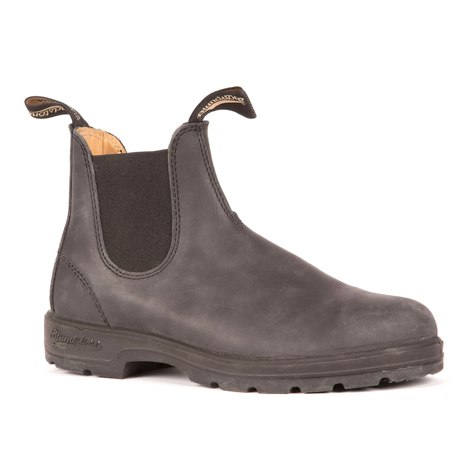 Blundstone 587 - Leather Lined Classic Rustic Black-Blundstone