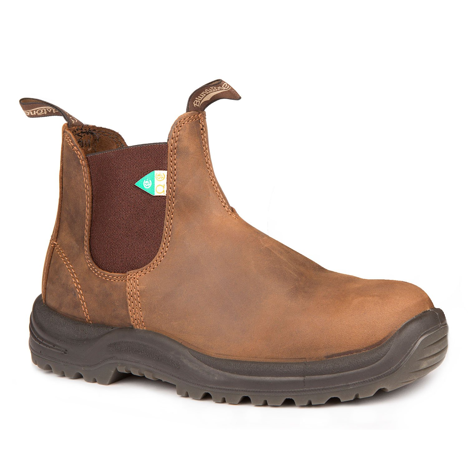 Blundstone 164 - Work & Safety Boot Crazy Horse Brown-Blundstone