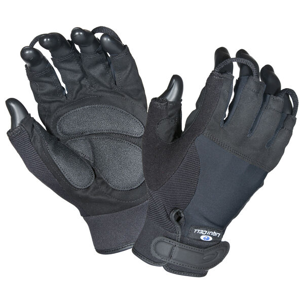 Wheelchair/Cycle Gloves w/ LiquiCell Half Finger-Hatch