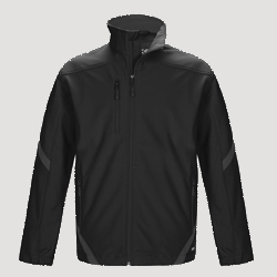 Boreal-Men's unlined colour contrast softshell-CSW
