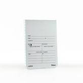 AMBULANCE, EMERGENCY, FIRE EVIDENCE NOTEBOOK 3.5X5-