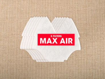 O2 Max Air Filters - 5 Pack-O2 Industries