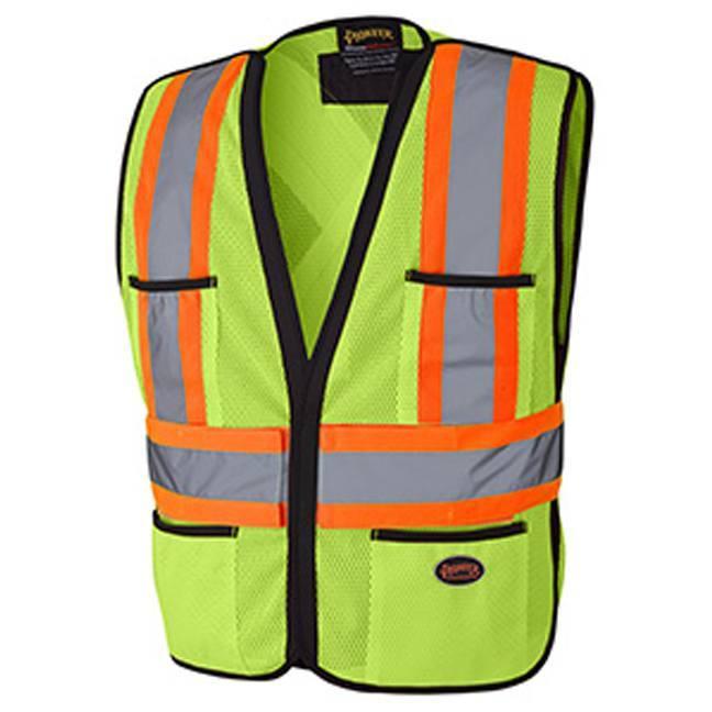 6927 Hi-Viz Traffic Vest-Pioneer
