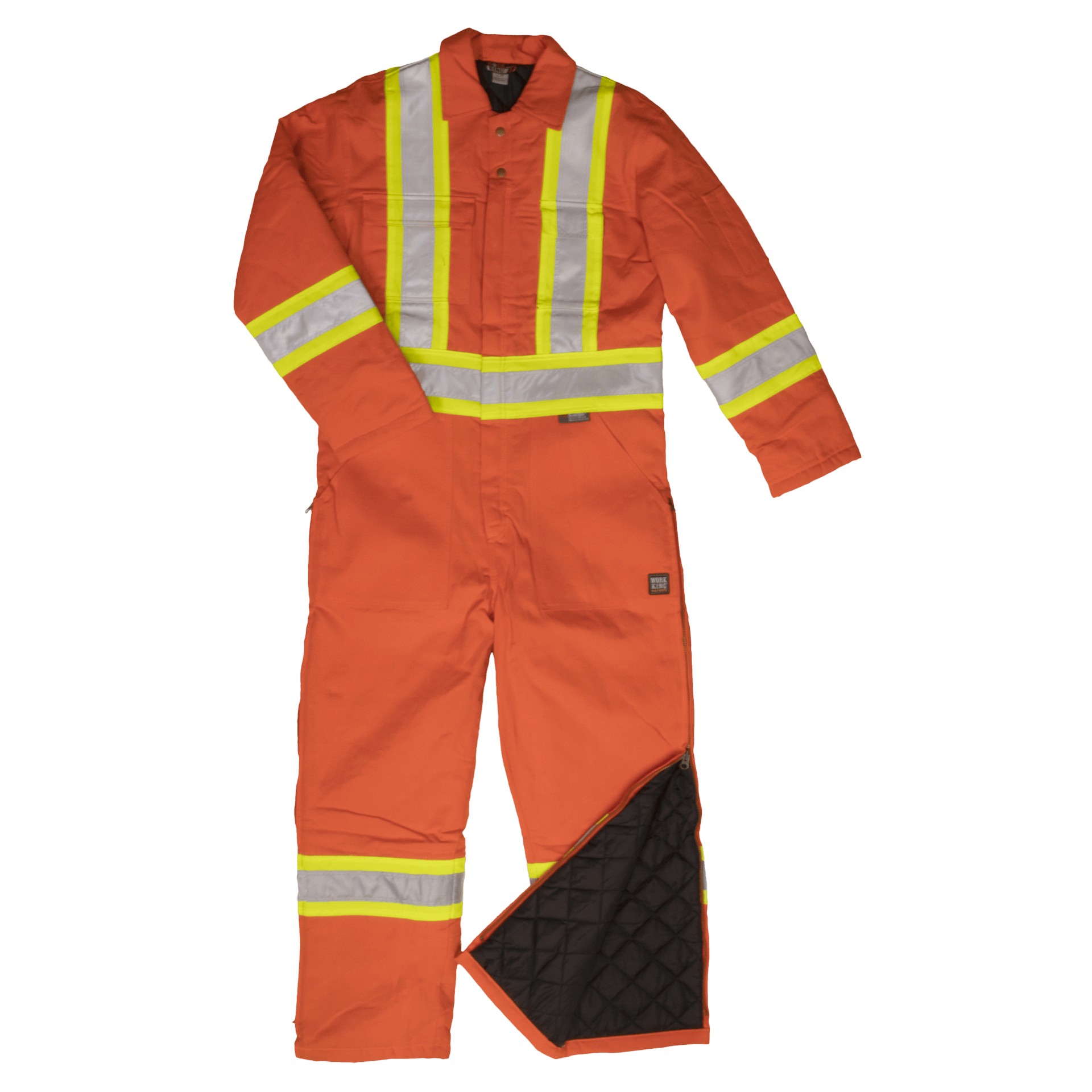 Insulated Safety Coverall-Work King