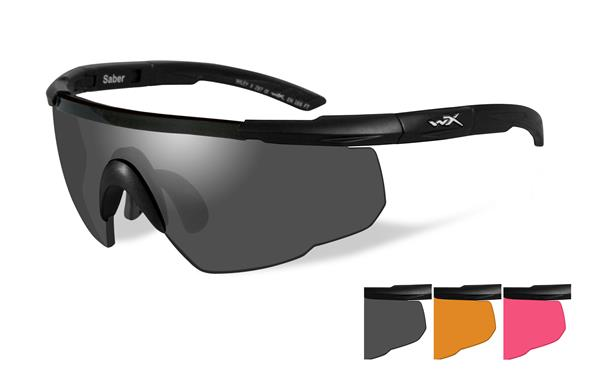 361ac1dcbb Quick View  Wiley X Saber Advanced Glasses - Smoke Grey