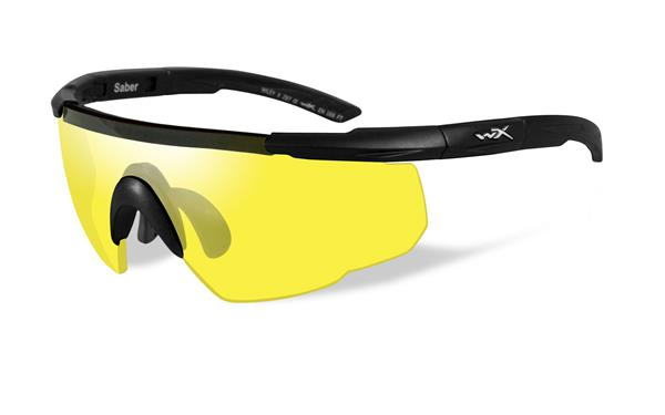 Wiley X Saber Advanced Glasses - Yellow Lens with Matte Frame -Wiley X